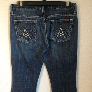 "7 For All Mankind Jeans - 7 For All Mankind ""A"" Pocket Jeans"